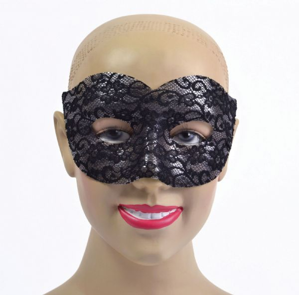 Black Lace Classic Eyemask Masquerade Ball Eye-Mask Eye Mask Fancy Dress